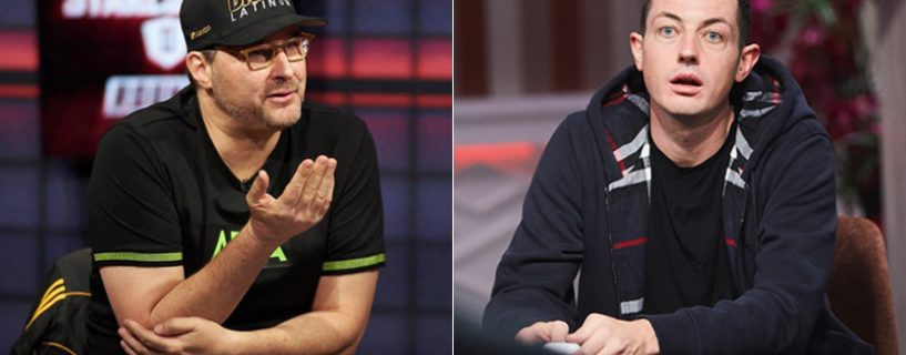 Phil Hellmuth vs. Tom Dwan決鬥擂台